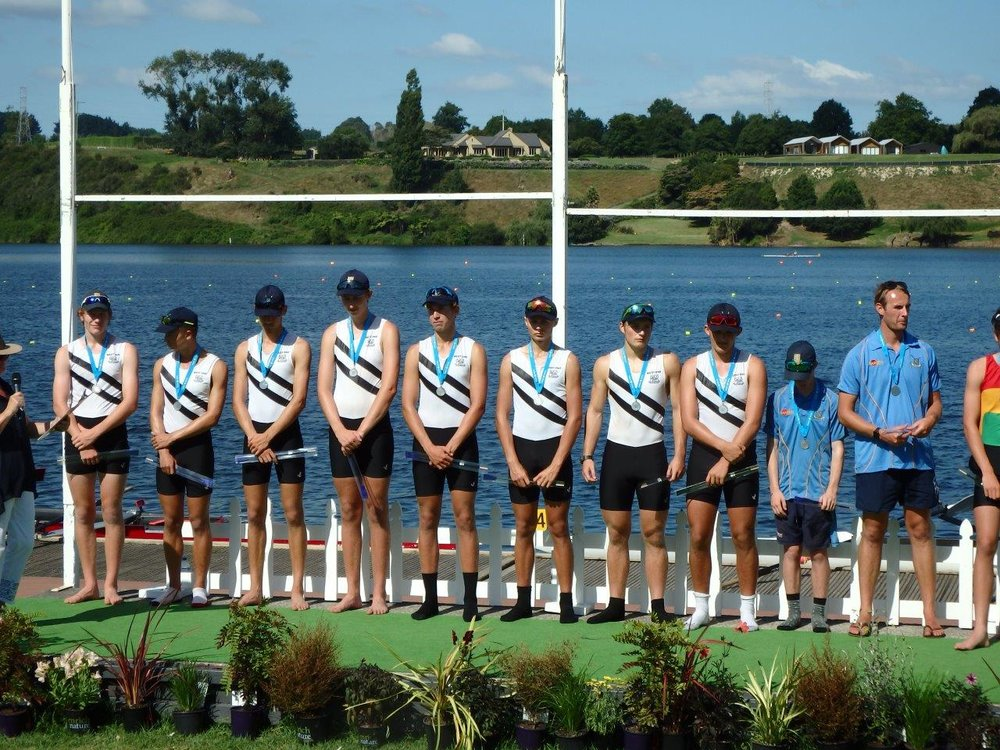 Lewis Brown, Stephen Stuart, Marcus Winter, Lachlan Pearce, Dennis Nieuwenhuizen, Nathan Smith, Anton Waldmann, Jesse Homer-Pilcher + Ben Campbell  M Club 8 + 2nd