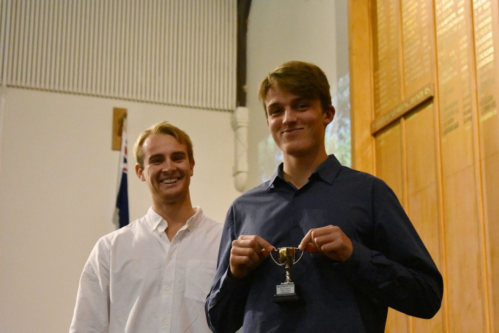 Sam - Most Improved BU16 2018