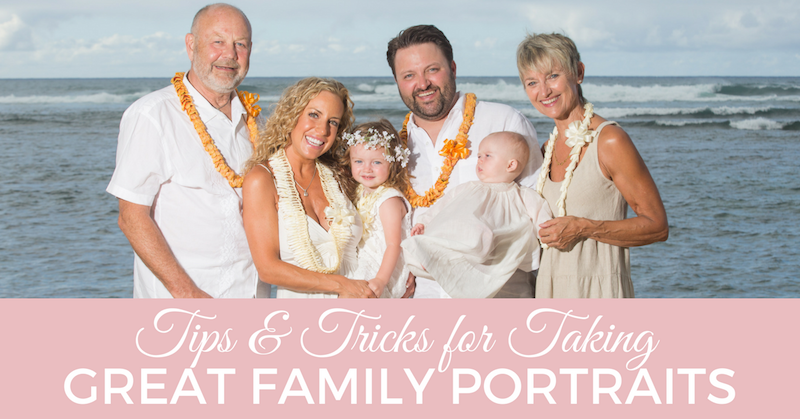 10 tips tricks for taking great family portraits kristen hook