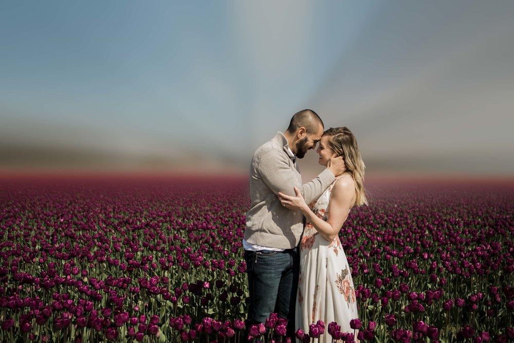 Molly & Jeremy - Skagit Valley Tulip Festival 2018