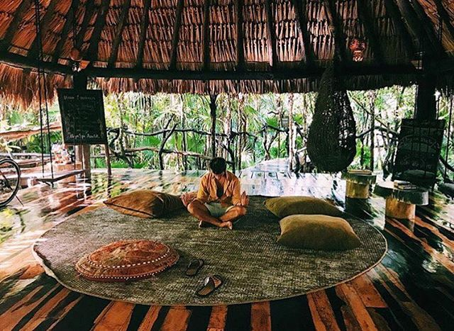 🌴🙏🏽Slow down. Calm down. Don't worry. Don't hurry. Trust the process 🙏🏽🌴#Azulik #Wellness #Wednesday #Happy #Jungle #Tulum #LovedByGuests #ReconnectionSanctuary #Trust #Vacation #Slow #Still #Love #Zen #Holiday #Mexico #Paradise #RoomPorn #Beautiful #Breathe #Mind #Body #Soul #Namaste #RePost 📷@francisco_mp