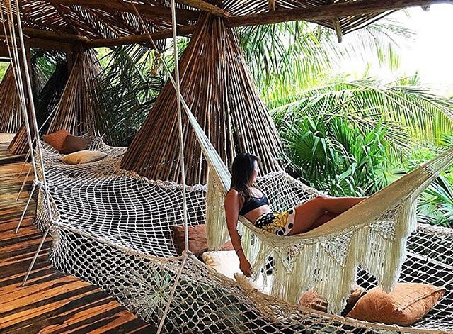 🌴When you need a 6 month holiday...twice a year🌴 #Hammock #Life #Love #Neverland #Azulik #Magic #Treehouse #PeterPan #Relax #Romance #GoodMorning #LovedByGuests #tbt #Beautiful #Tulum #Mexico #Nature #Fairytale #Adventure #Dream #Luxury #Paradise #Jungle #Vacation #Wanderlust #Holiday #Amazing #Live #RePost 📷@minkitydink