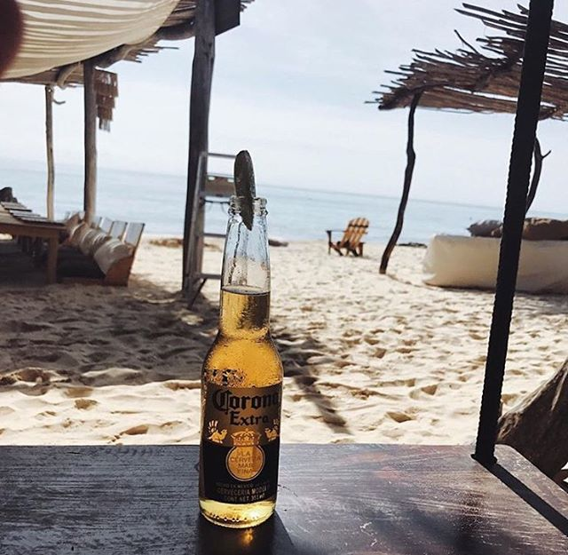🌴🍺💙You seem like you could use a nice glass of friday 💙🍺🌴#Friday #Beach #Azulik #Dreams #Playa #Blue #AzulikBeachBar #Love #LovedByGuests #Beer #Cerveza #Corona #Beautiful #Nature #Tulum #Mexico #Adventure #Live #Paradise #Vacation #Holiday #Life #Romance #Amazing #RePost 📷@juscallmemrsb