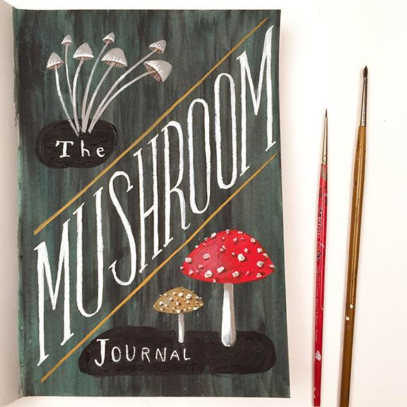 Mushroom Title Page a