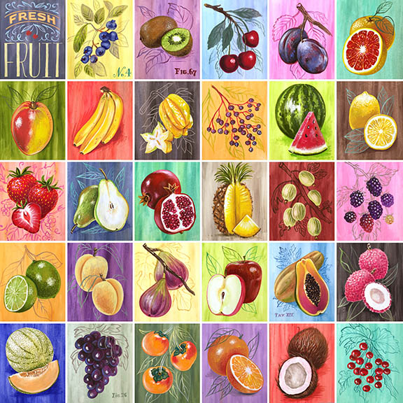 fruit series