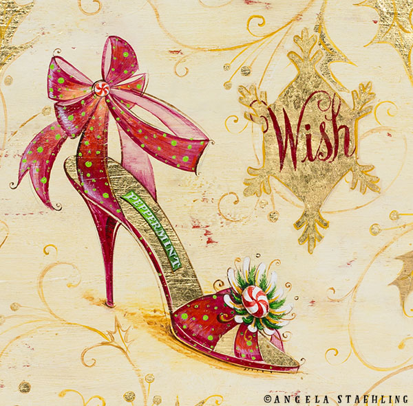 Holiday Wish Shoe