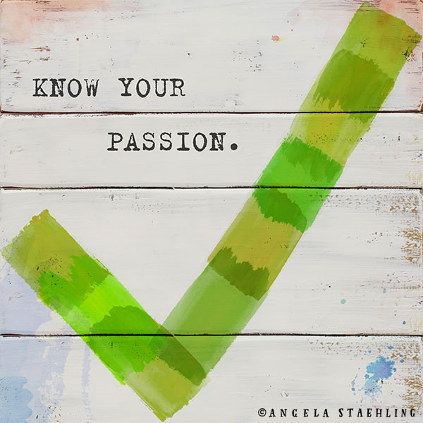Know Your Passion
