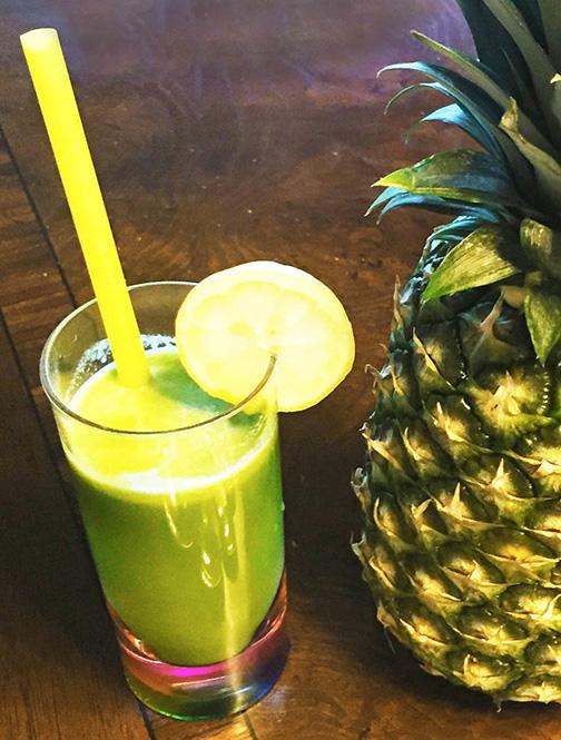 Rejuvenating Kale Juice Recipe Header Image