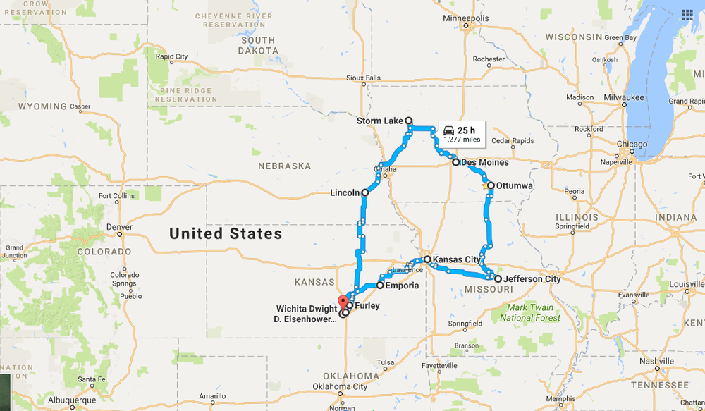 A MID-WEST ROAD TRIP IN SEPTEMBER 2017
