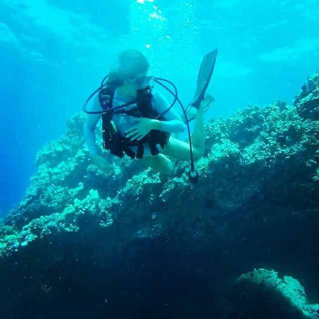 Diving through Makena 🤙