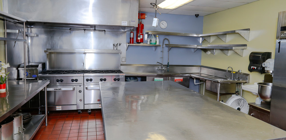 The Original Five Commercial Kitchens For Rent. Established 1984.