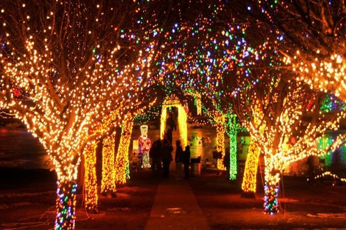 Chickasha Festival of Light— Recognized as one of the top ten holiday light  shows in the nation and featuring over 3.5 million twinkling lights, ... - Oklahoma City's Perfect Holiday Light Road Trip €� Linked