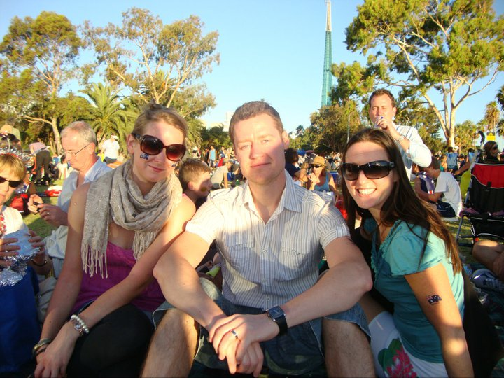 The last time I celebrated Oz Day, 6 years ago when I went back for our wedding