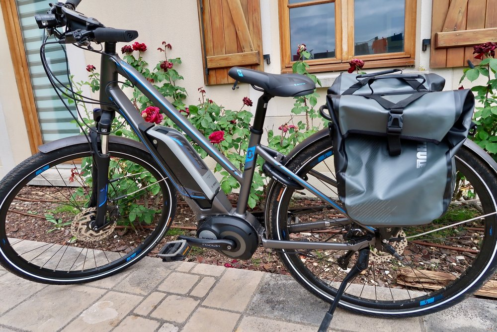 My Scott E-sub Tour Lady 2017 bike