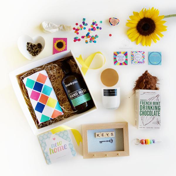 Happy New Home Box - Photo courtesy: Little Box of Happiness