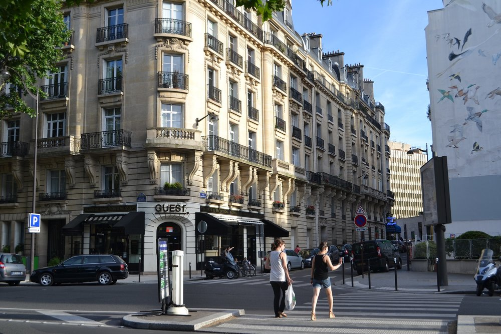 Paris is a modern city but don't be fooled! Not all buildings have lifts.