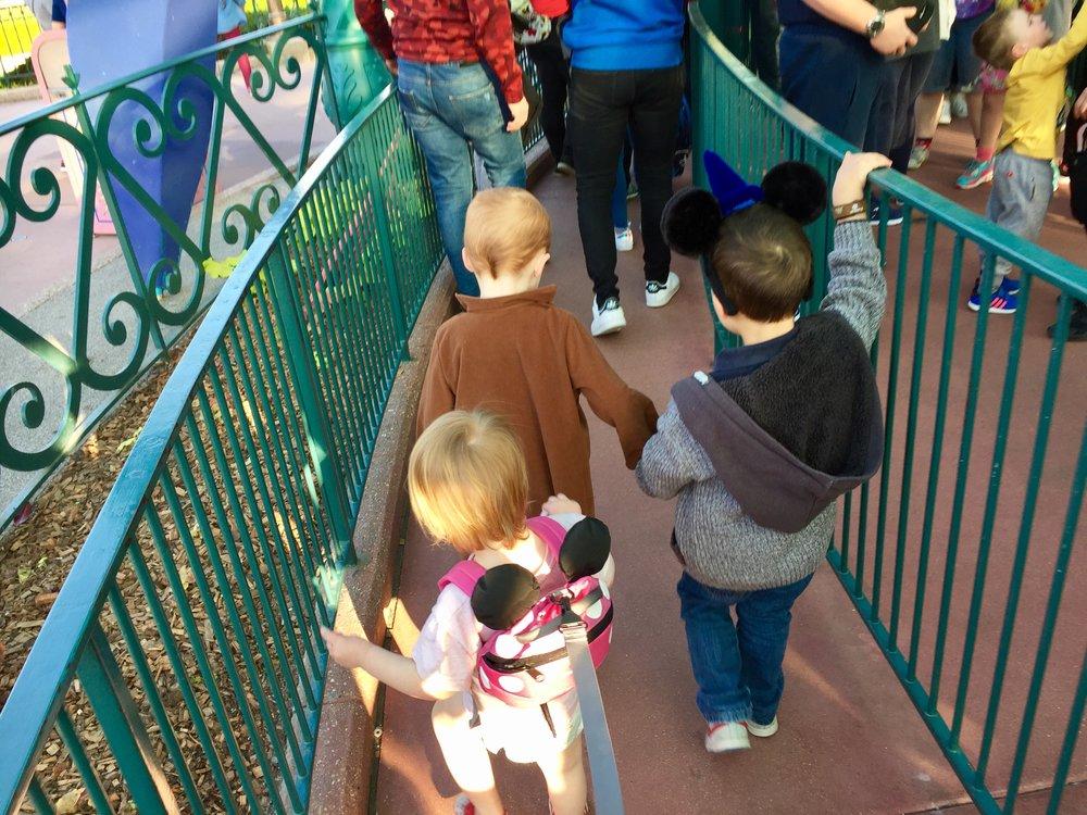 Disney teacups queue