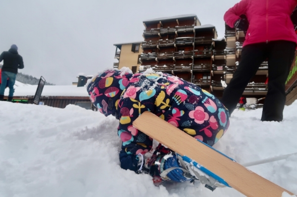Even my daughter had a go - there was a lot of face planting!