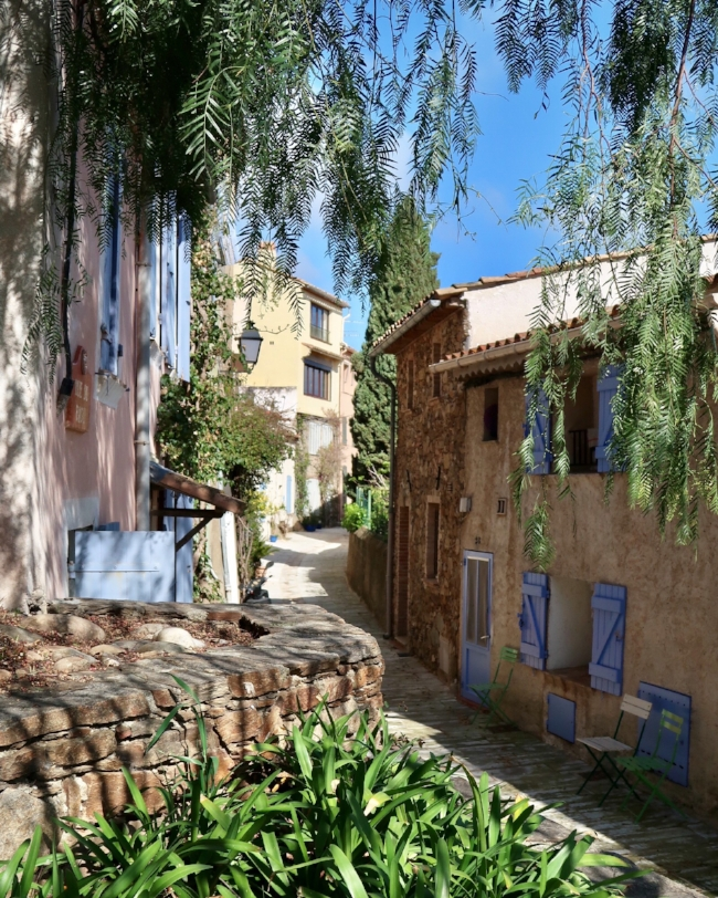 Grimaud village