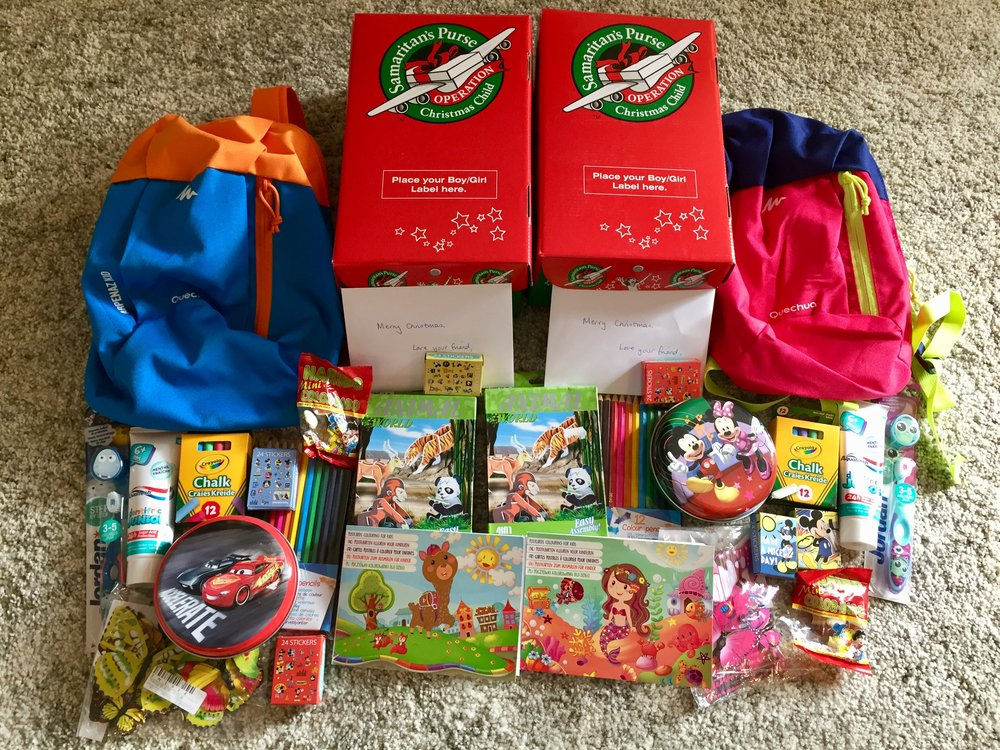 Samaritan's Purse - Operation Christmas Child