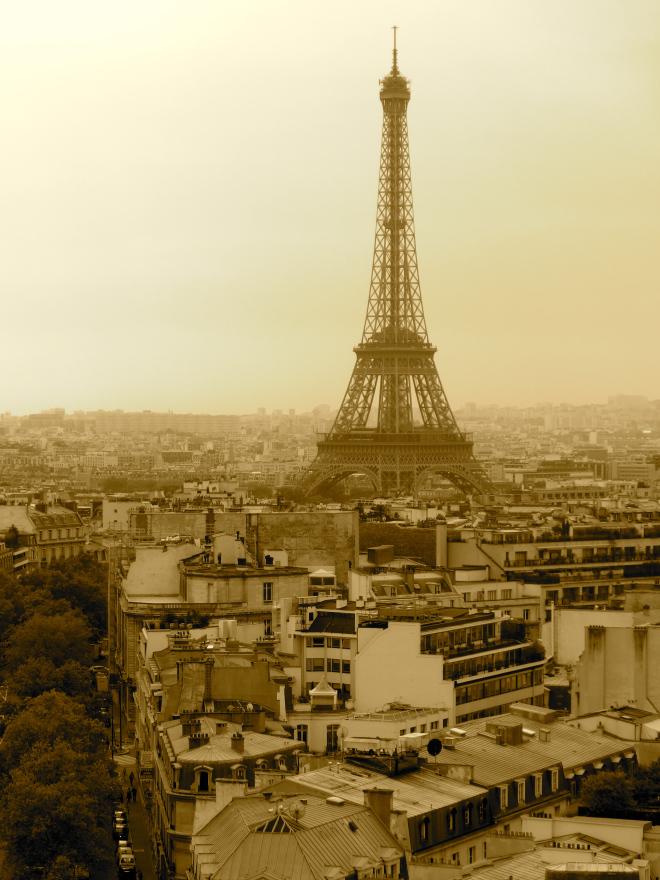 Paris, c'est comme un rêve.