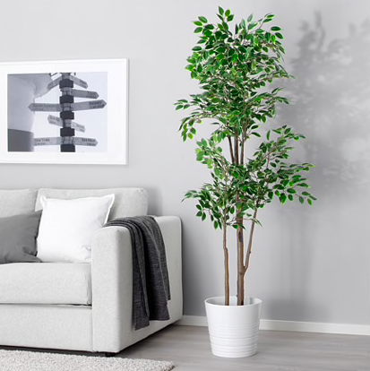 Ikea - potted plant artificial