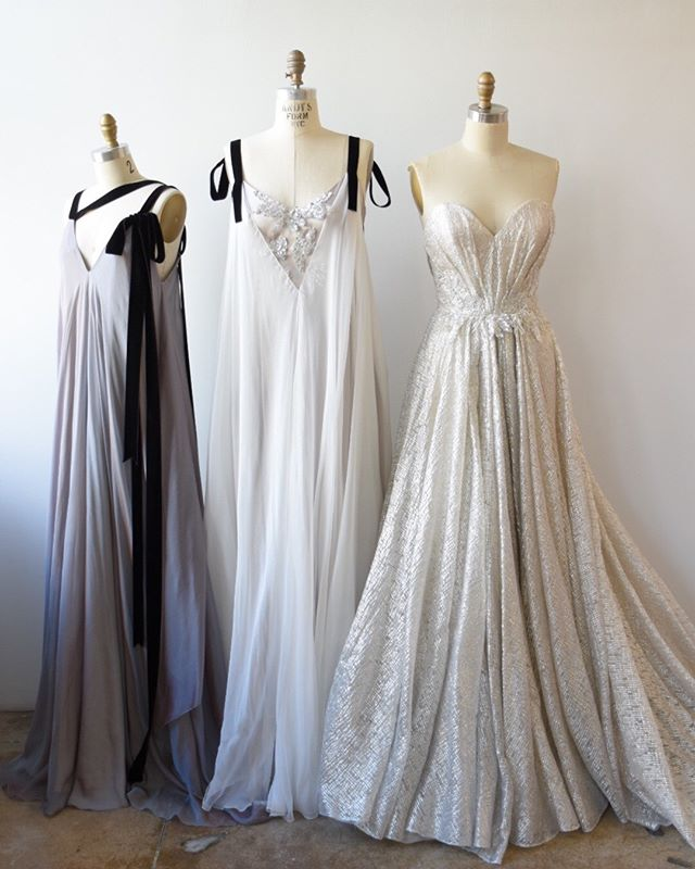 1, 2, or 3?  #ceruleangown  #ephemeragown #titaniumgown