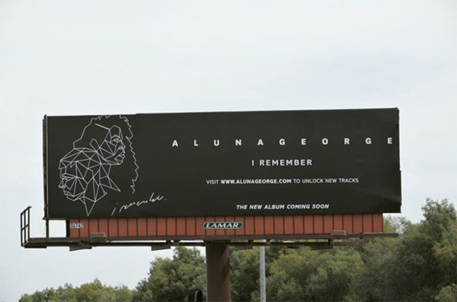 AlunaGeorge Billboard