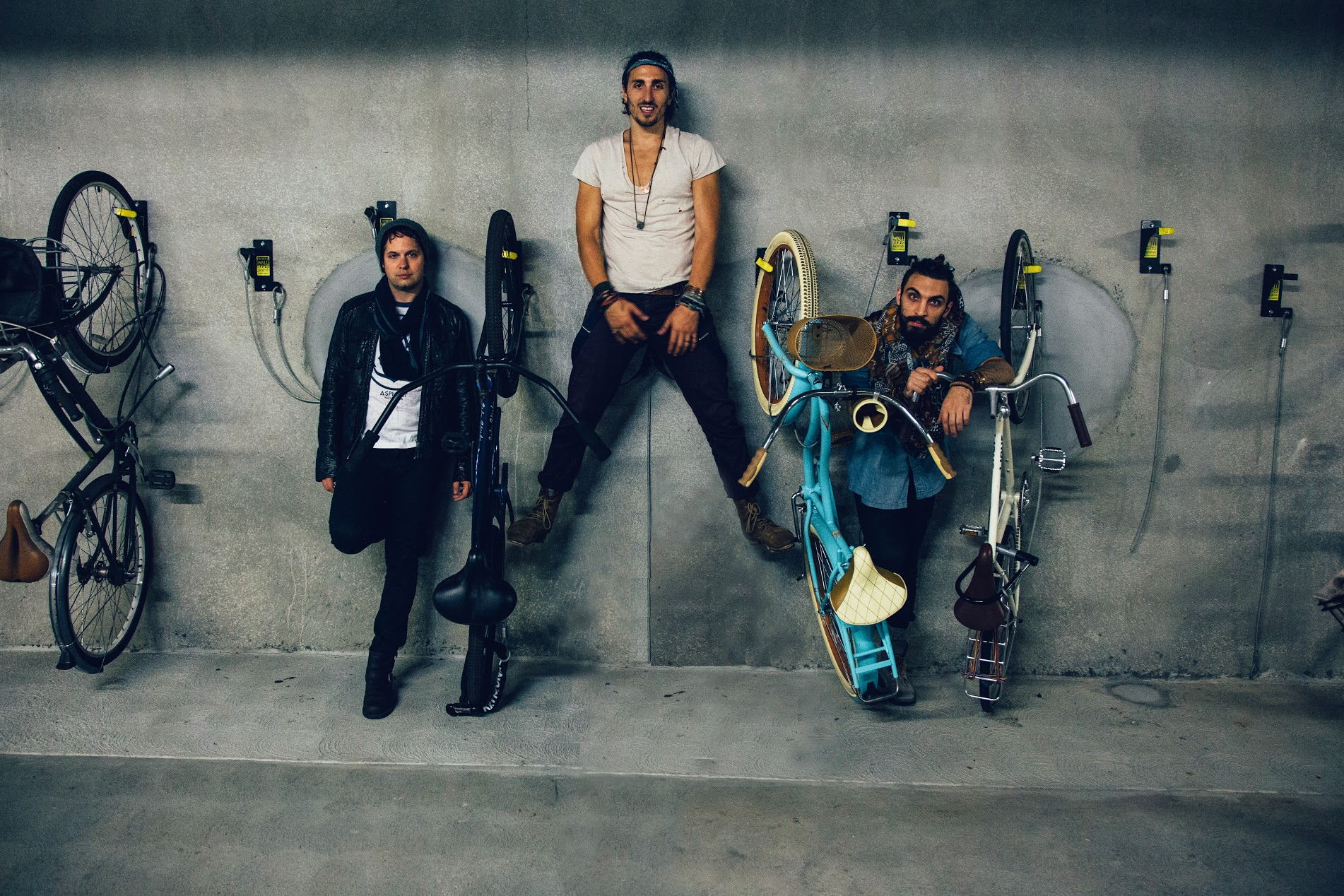 Bike Rack Trio