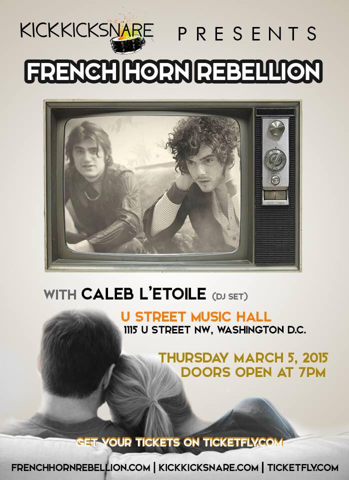 French Horn Rebellion U Street Music Hall