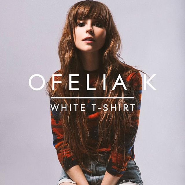 Ofelia K White T-Shirt