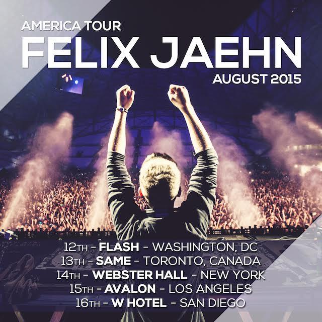 Felix Jaehn Tour