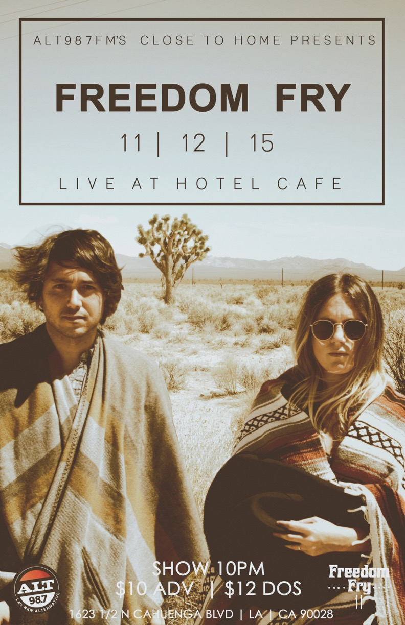 Freedom Fry @ Hotel Cafe 11-12-15