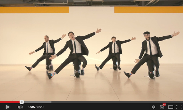 OK Go - I Wont Let You Down Video