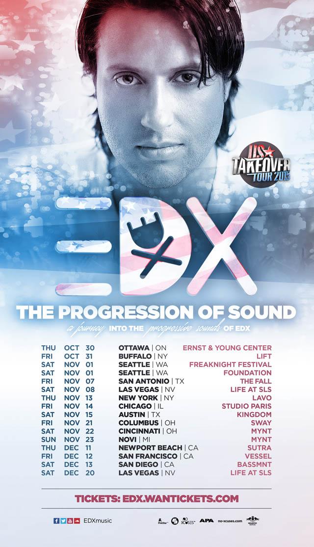 EDX tour flyer