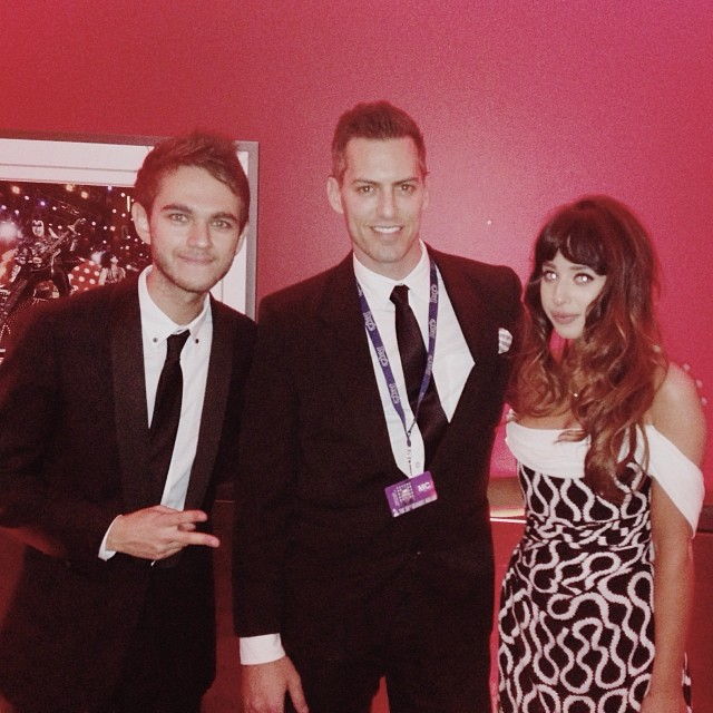 Brent Zedd Foxes GRAMMY