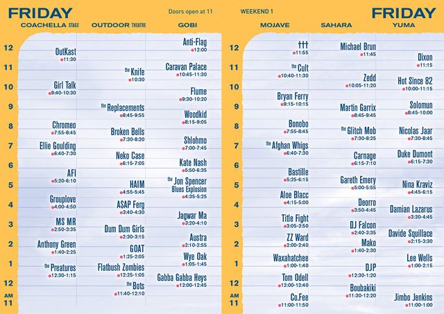 coachella set times 2014