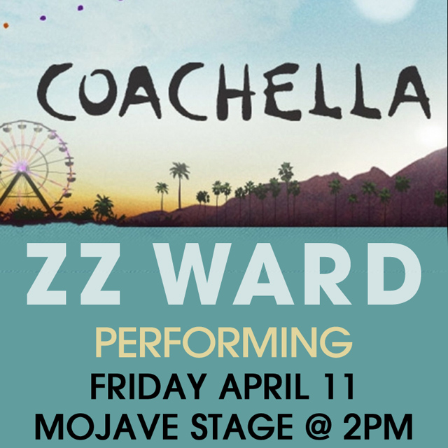 zz ward coachella