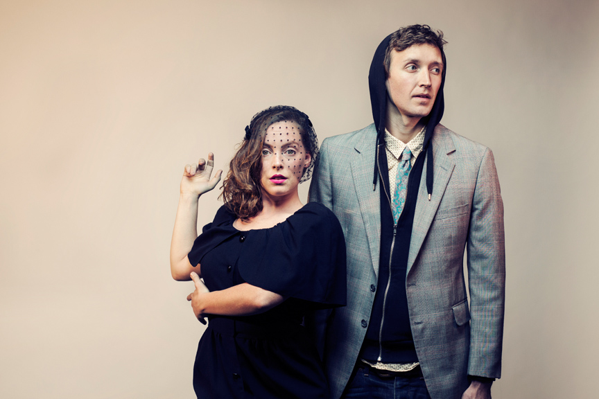 Sylvan Esso: Nick Sanborn, Amelia Meath. Photo by D.L. Anderson