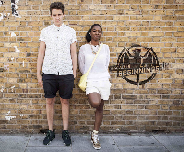 Toddla T and Roses Gabor for Bacardi Beginnings, West London 9/7/13 by Tom Oldham