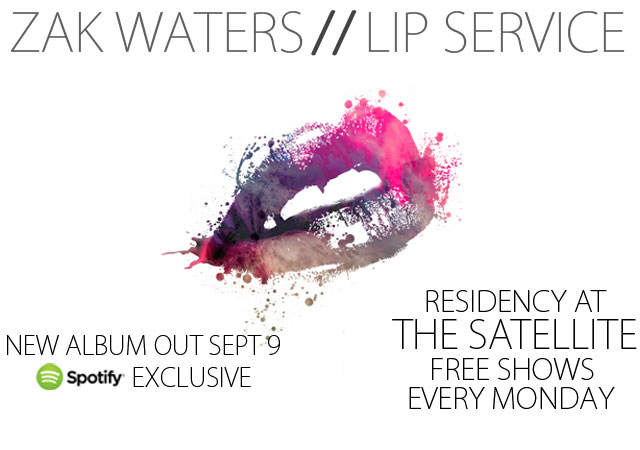 Zak Waters Lip Service