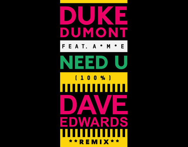 Duke Dumont Dave Edwards