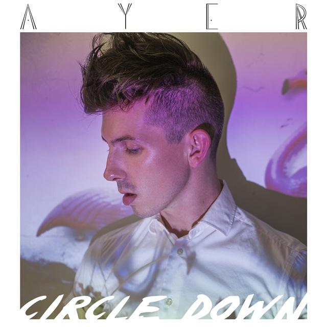 ayer circle down