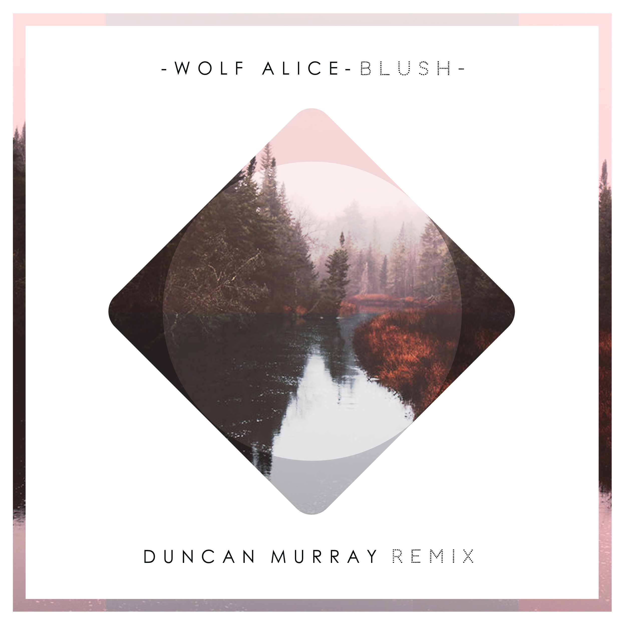 Wolf Alice - Blush (Duncan Murray Remix) ARTWORK