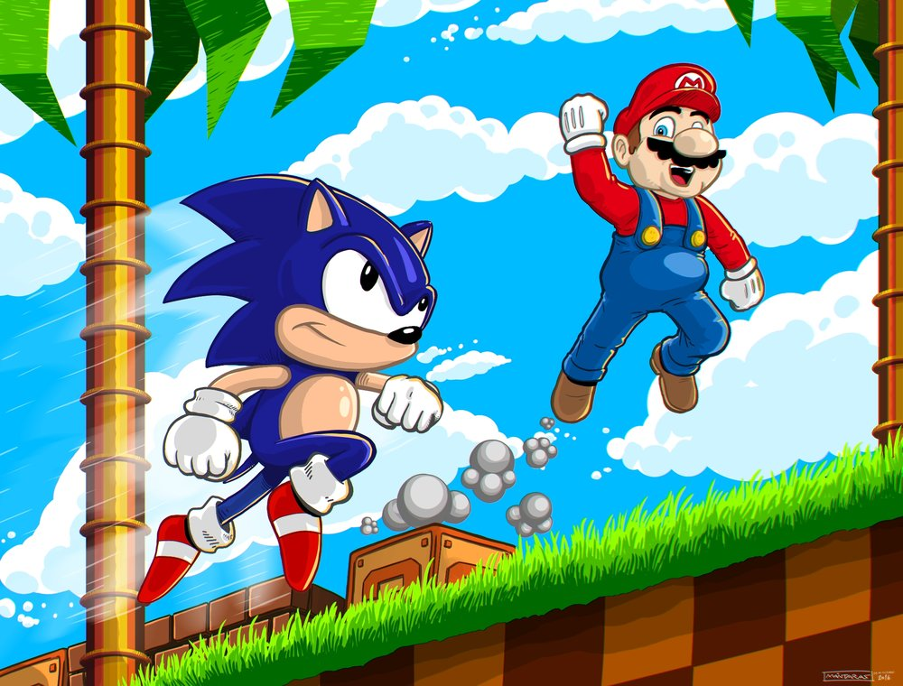 Sonic & Mario_PAINTED_CA_SMALL.jpg