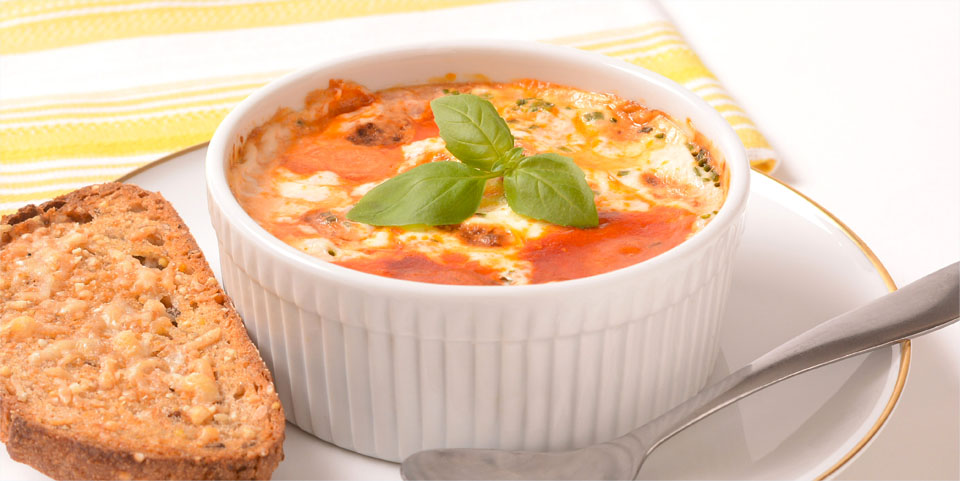 Eggs Cocotte - Malibu Beach Recovery Diet Cookbook
