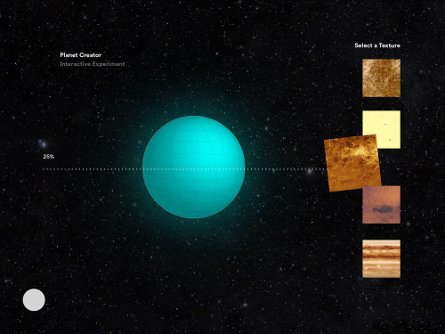 Planet Editor mock-up. Ronald Viernes.