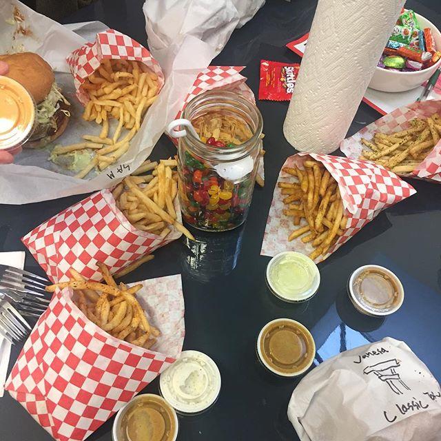 Monday team lunch!  Ts loves @katsuburger 🍔🇯🇵🍟🍔🇯🇵🍟