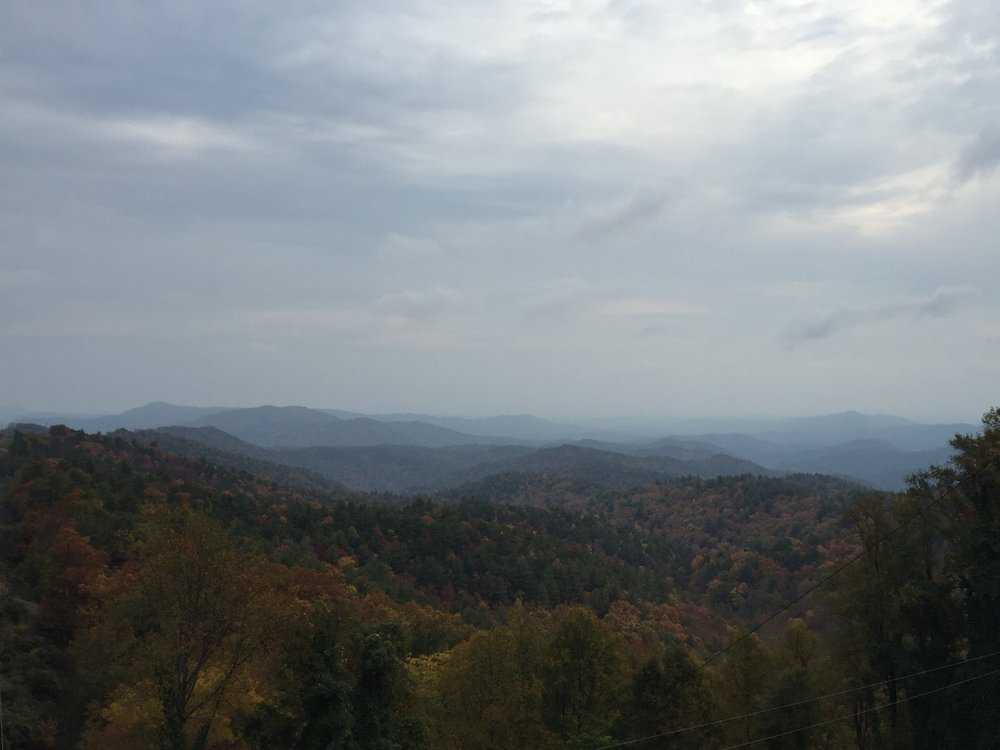 North Carolinas mountains