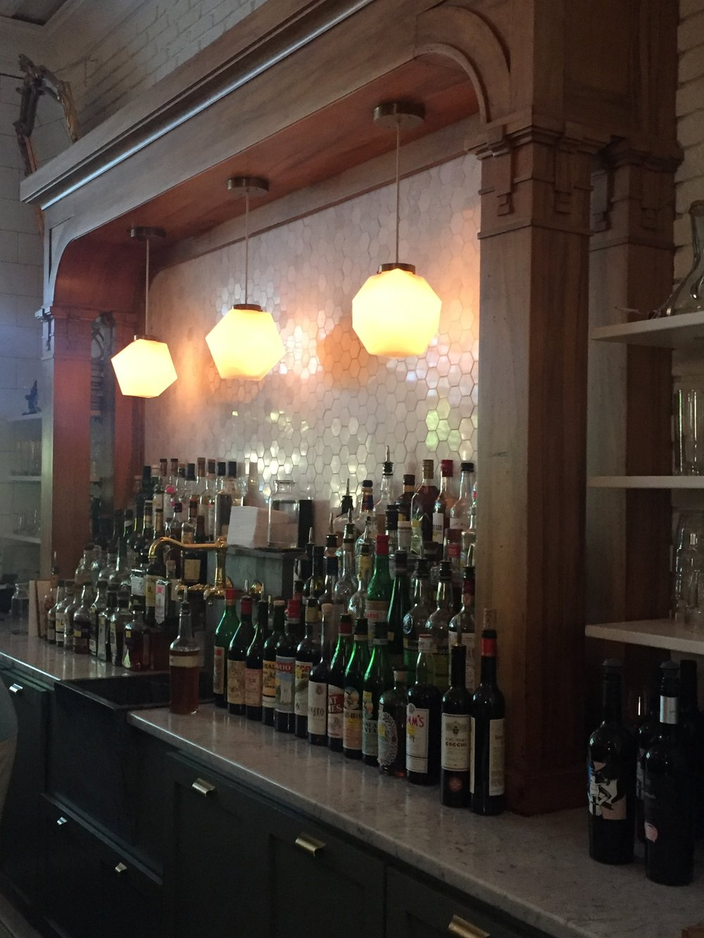 the bar at Kindred